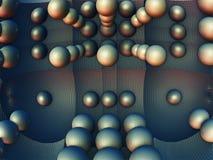 Fractal 3D background, abstract 3D illustration, element for design. Fantastic city, 3D rendering, fractal abstract design vector illustration