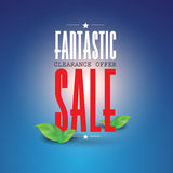 Fantastic clearance offer sale Royalty Free Stock Photography