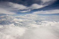 Fantastic clouds. In the sky Royalty Free Stock Photography