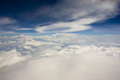 Fantastic clouds. In the sky Stock Photos