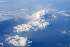 Fantastic clouds. In the sky Royalty Free Stock Images