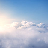 Fantastic cloudscape at sunset. Royalty Free Stock Image