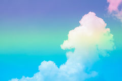 Fantastic color background. With cloud and sky stock image
