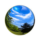 Fantastic colorful ball Stock Image