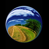Fantastic colorful ball Stock Images
