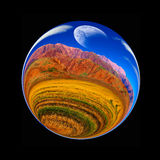 Fantastic colorful ball Royalty Free Stock Images