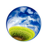 Fantastic colorful ball Royalty Free Stock Photography