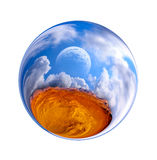 Fantastic colorful ball Royalty Free Stock Photos