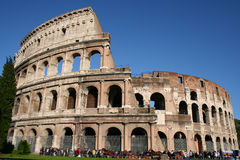 Fantastic Colosseum in Rome Royalty Free Stock Photo