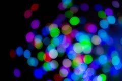 Fantastic confetti bokeh background Royalty Free Stock Photo