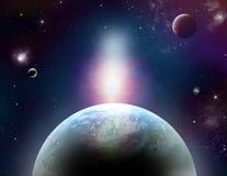 Fantastic cosmos Royalty Free Stock Image