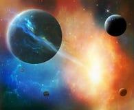 Fantastic cosmos Stock Image