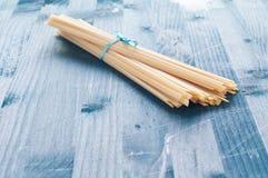 Fantastic and delicious Italian pasta fettuccine type similar t Stock Photo