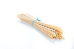 Fantastic and delicious Italian pasta fettuccine type similar t Stock Images