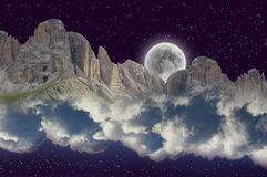 Fantastic dream scenery royalty free stock photo