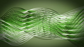 Fantastic eco animation with moving stripe objects, loop HD 1080p Royalty Free Stock Images