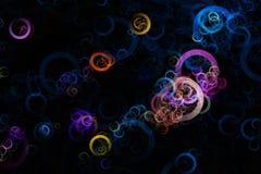 Fantastic elegant circle background design. Illustration royalty free stock photo
