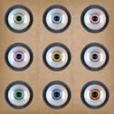 Fantastic Eyes Stock Image