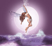 Fantastic fairy. Elements of the image furnished by NASA Royalty Free Stock Photos
