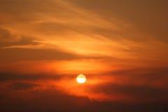 Fantastic fairy tale sunset sky Royalty Free Stock Photos