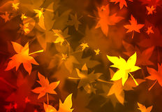 Fantastic fall background royalty free illustration