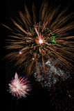 Fantastic fireworks Royalty Free Stock Photos