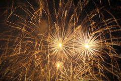 Fantastic Fireworks. Premium pyrotechnics for e.g. New Year's Eve Royalty Free Stock Image