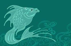 Fantastic fish Royalty Free Stock Image