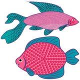 Fantastic fish. Stock Images