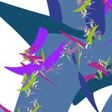 Fantastic fractal abstract wallpaper Stock Photo