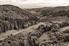 Fantastic Franconian Spring Landscape Royalty Free Stock Photo