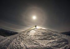 Fantastic full moon Royalty Free Stock Images