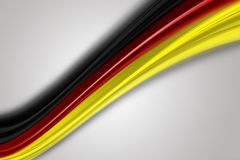 Fantastic german colors for sport events. With space for your text Royalty Free Stock Photo
