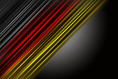 Fantastic german colors for sport events Royalty Free Stock Images