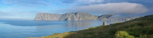 Holidays in Northern Norway Stock Photo