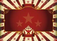 Fantastic horizontal circus Stock Images