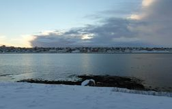 Fantastic Iceland and capital Reykjavik Stock Image