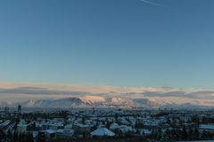Fantastic Iceland and capital Reykjavik Royalty Free Stock Photo