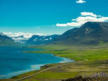 Fantastic icelandic landscape Stock Photo