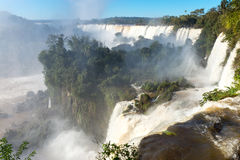 The fantastic Iguazu falls Royalty Free Stock Photo