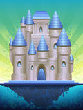 Fantastic island castle. (other landscapes are in my gallery