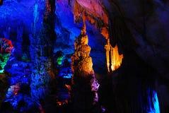Fantastic karst cave Royalty Free Stock Images