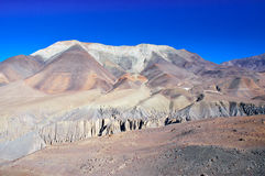 Fantastic landscape near Kangbeni, Nepal Stock Photography