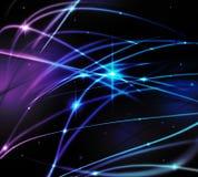 Fantastic light line Stock Images