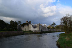 Fantastic Look at Desmond Castle in Ireland Stock Images