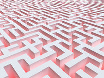 Fantastic maze Royalty Free Stock Images