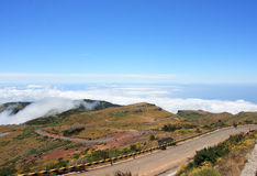 Fantastic Mountain View in Madeira. Portugal Stock Photo