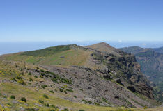 Fantastic Mountain View in Madeira Royalty Free Stock Photography