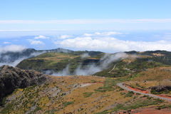 Fantastic Mountain View in Madeira. Portugal Stock Photography
