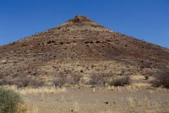 Fantastic Namibia desert landscape Royalty Free Stock Photos